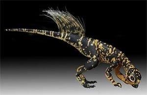 Кожа пситтакозавра оказалась очень прочной