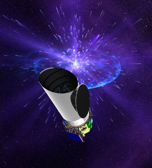 Dark Energy Space Telescope (рисунок с сайта www.universetoday.com)